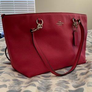 Coach fuchsia pink bag